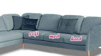 Sohvan ja tuolin istuinpehmeys